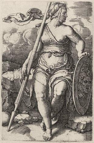 Lucas Von Leyden, Athena Pallas